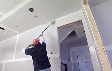 Монтаж гипсокартона на стены и потолок